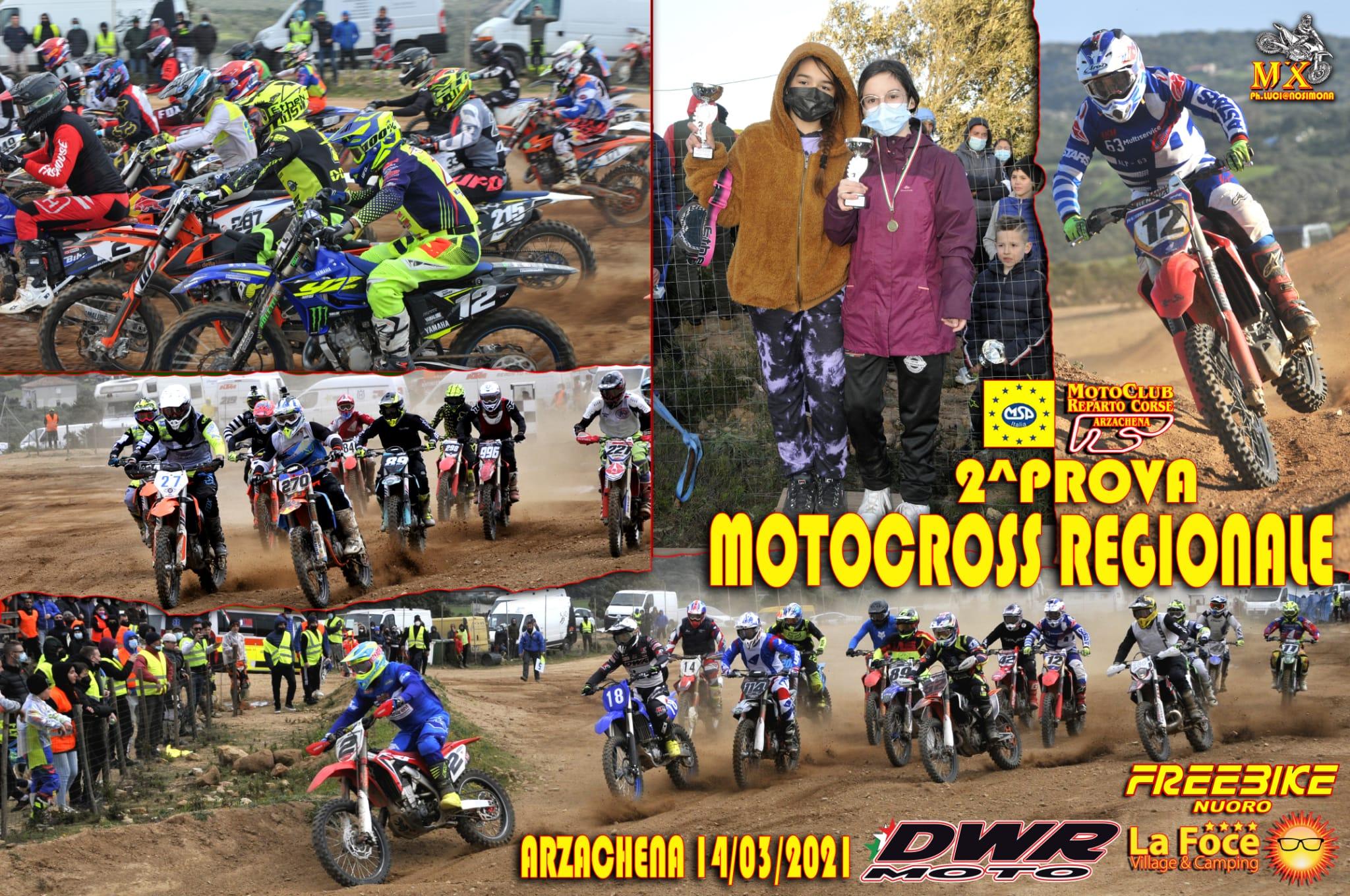 """Recensione e classifiche 2^ Prova Motocross MSP """"Arzachena"""""""