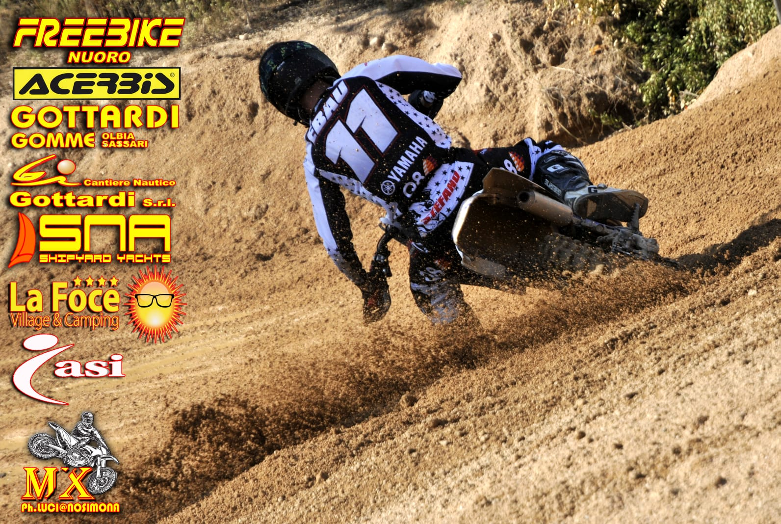 "Classifica e Recensione 9^ Gara di Campionato Motocross ""Padru"""