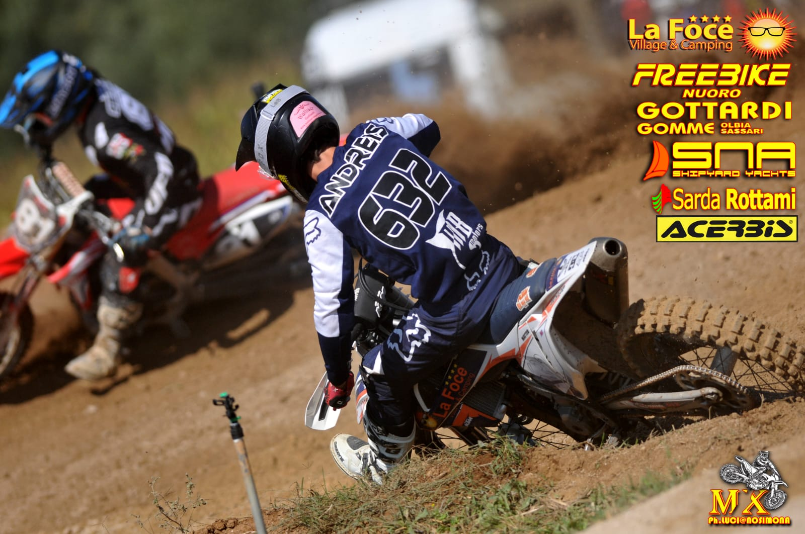 "Classifica e Recensione 7^ Gara di Campionato Motocross ""Alghero"""