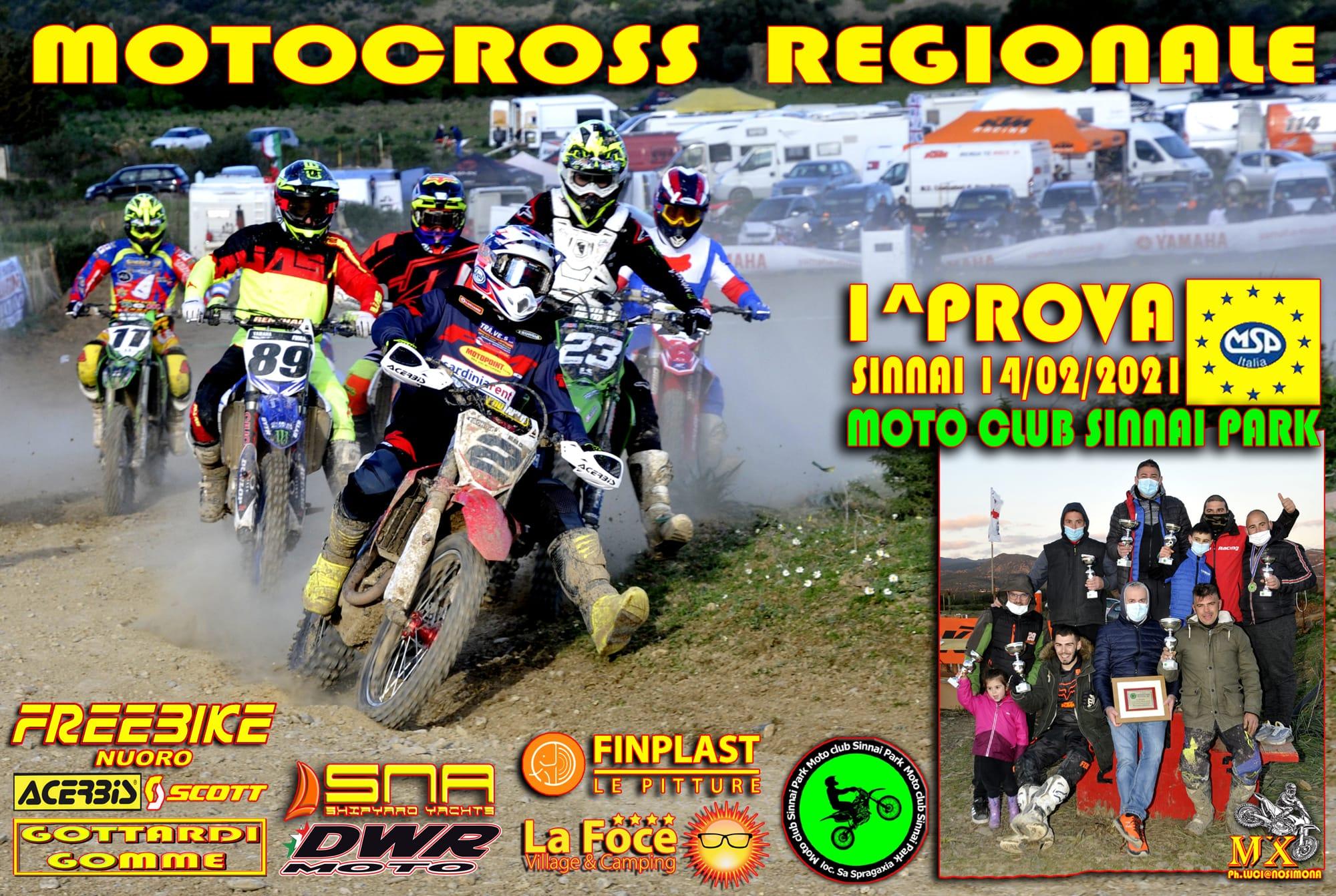 """Recensione e classifiche 1^ Prova Motocross MSP """"Sinnai"""""""