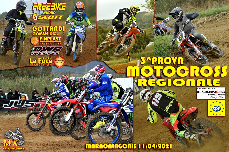 """Recensione e classifiche 3^ Prova Motocross MSP """"Maracalagonis"""""""