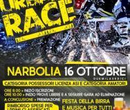 Locandina Urban Race Narbolia 16 ottobre 2016